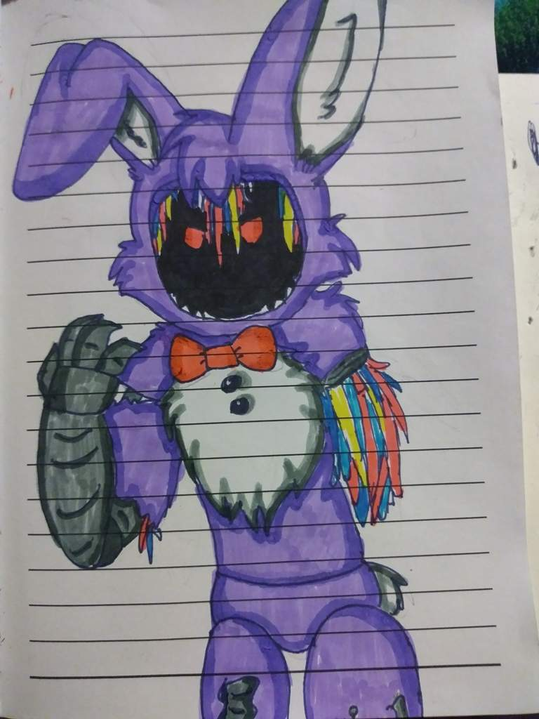 withered bonnie five nights at freddy s amino