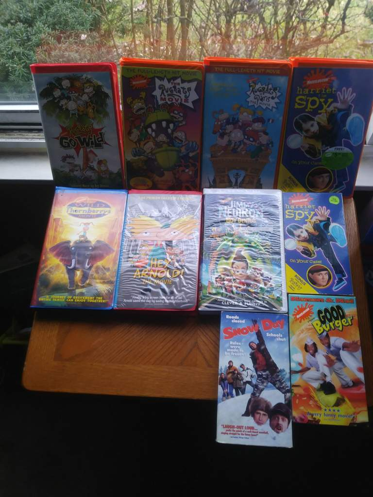 My Nickelodeon VHS tapes   90s Nick! Amino