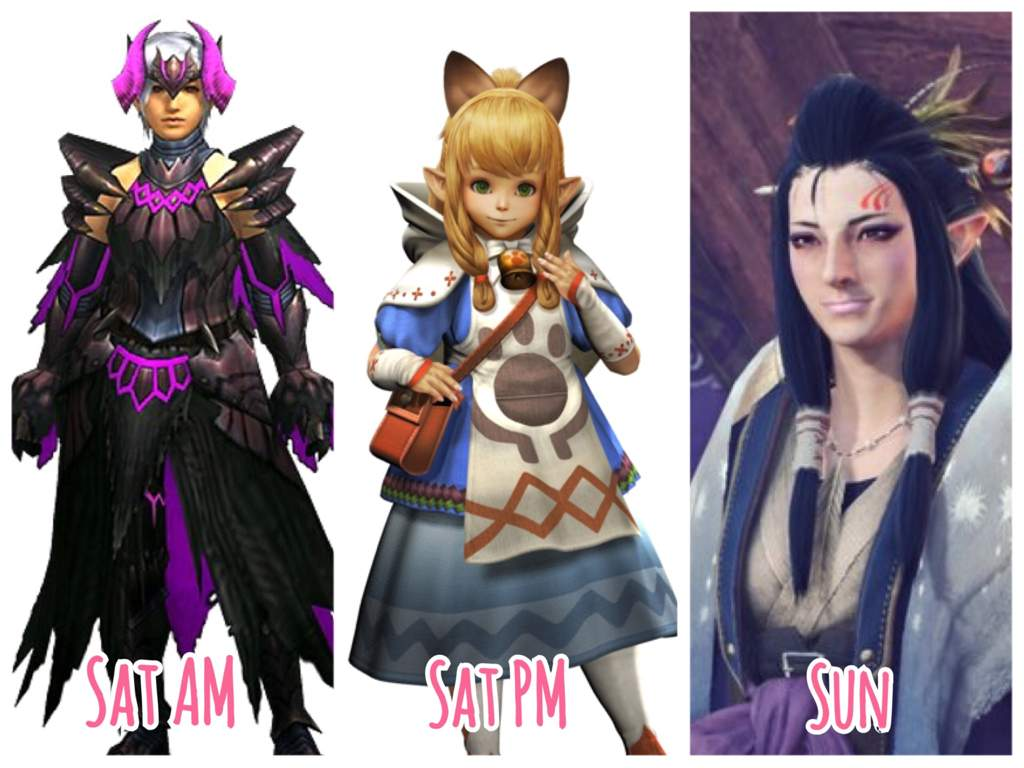 ✨ otakon lineup ✨ | monster hunter amino