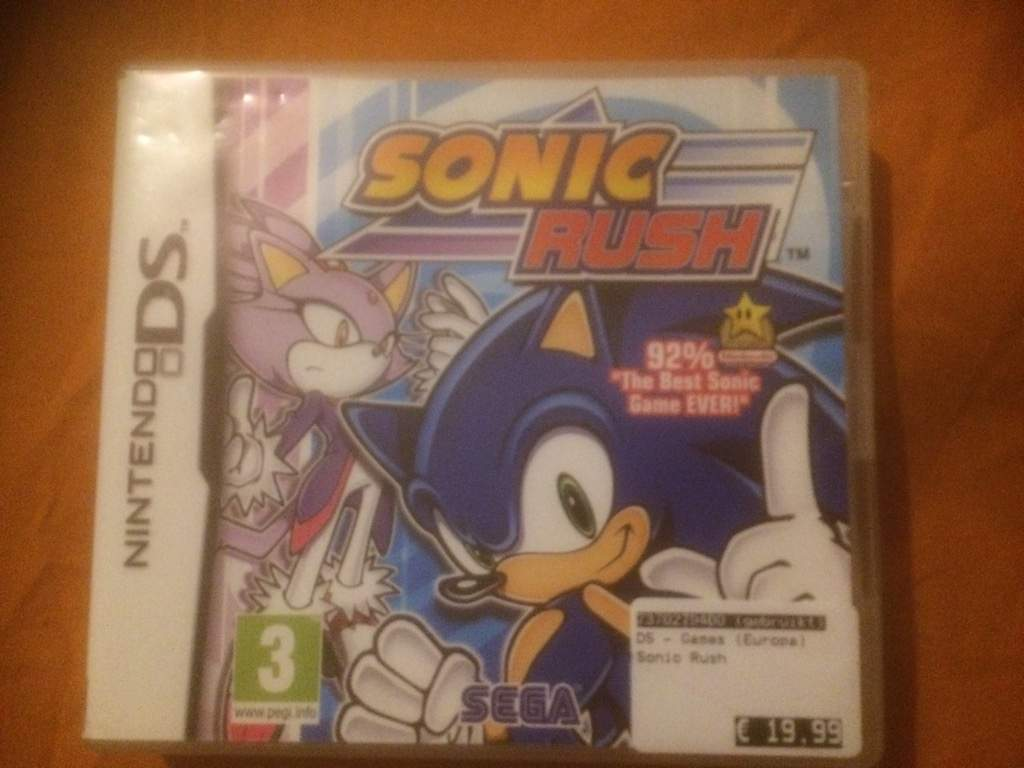 Sonic Rush Sonic The Hedgehog Amino