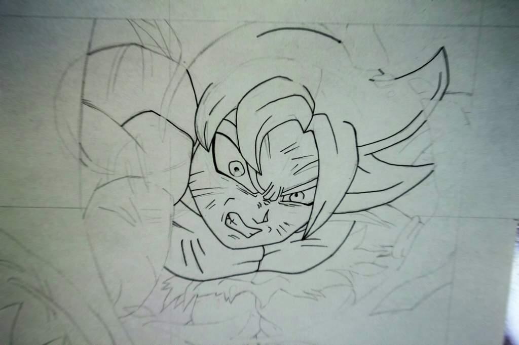 Dibujos Para Colorear De Goku Ultra Instinto: Dibujo De Goku Ultra Instinto Dominado Dibujarte Amino