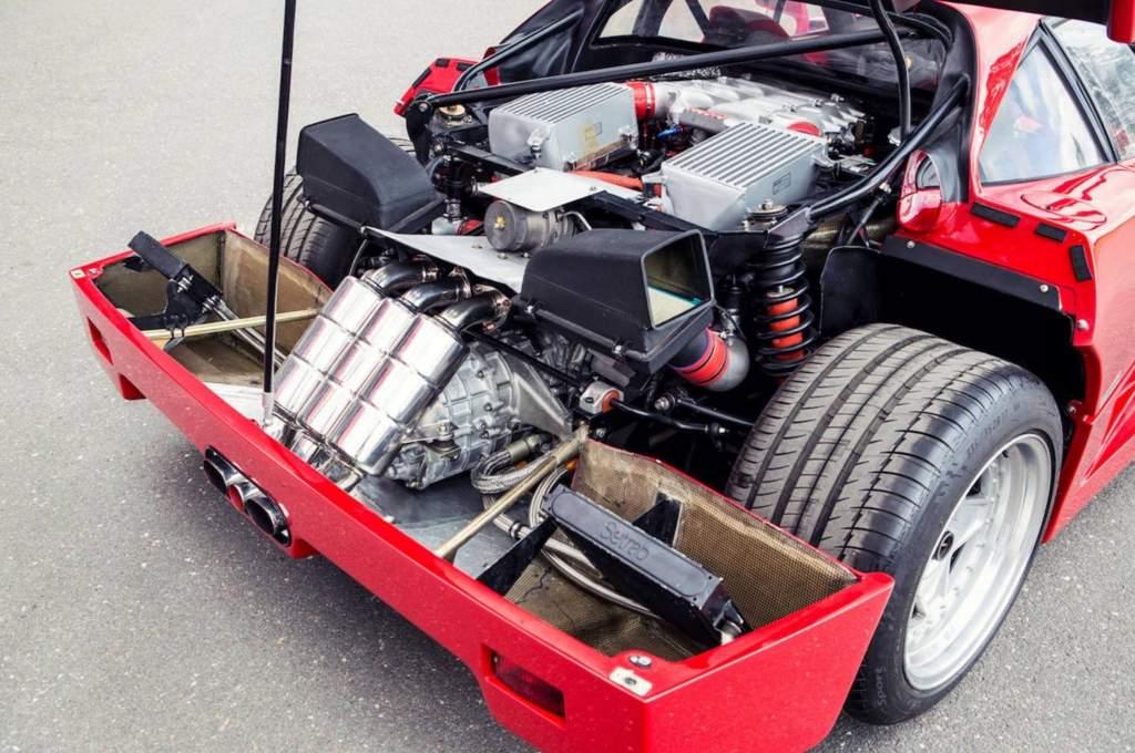 Throwback Thursday Ferrari F40 Garage Amino