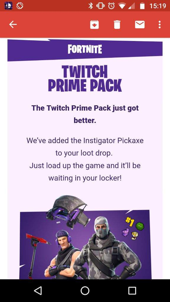 Fortnite next twitch prime loot