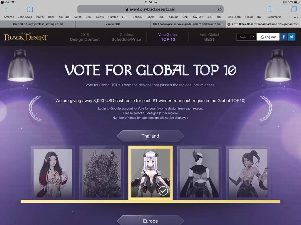 Vote for your favourite BDO costumes   MMO Amino