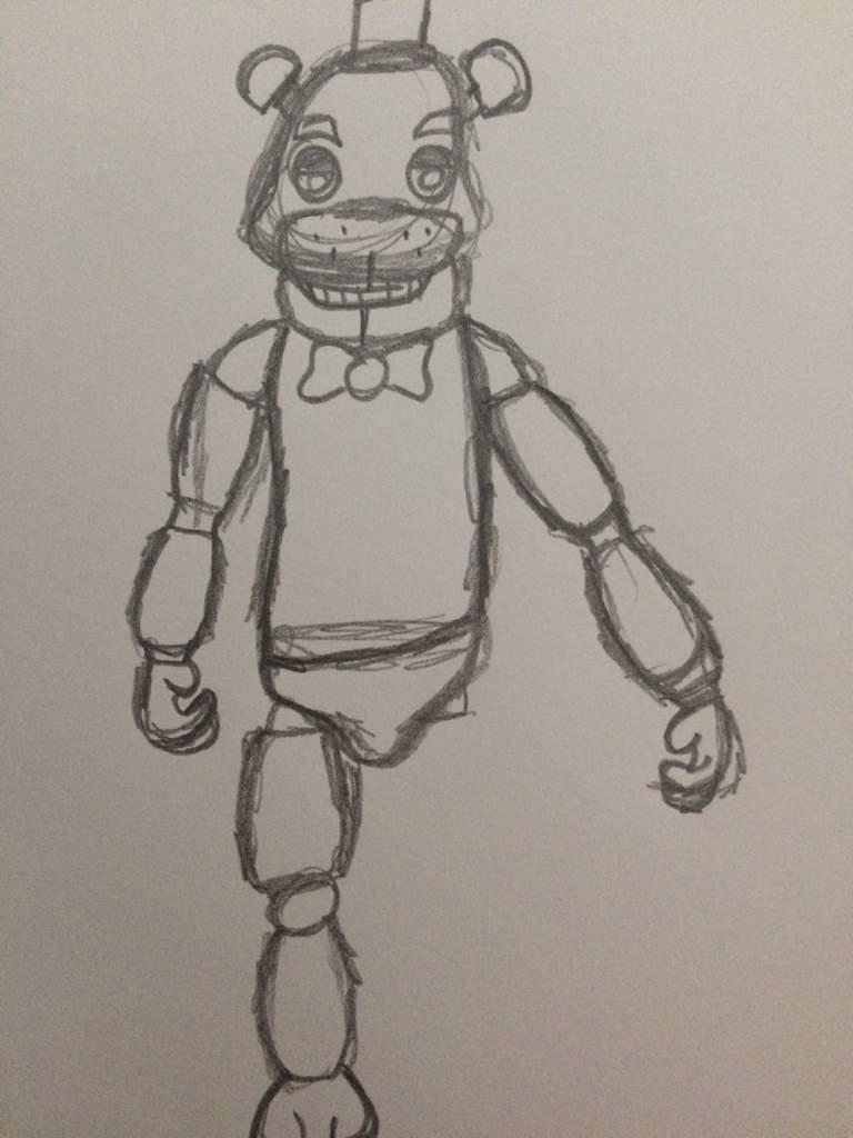 Freddy Fazbear Drawing^ - ^ | Five Nights At Freddy's Amino