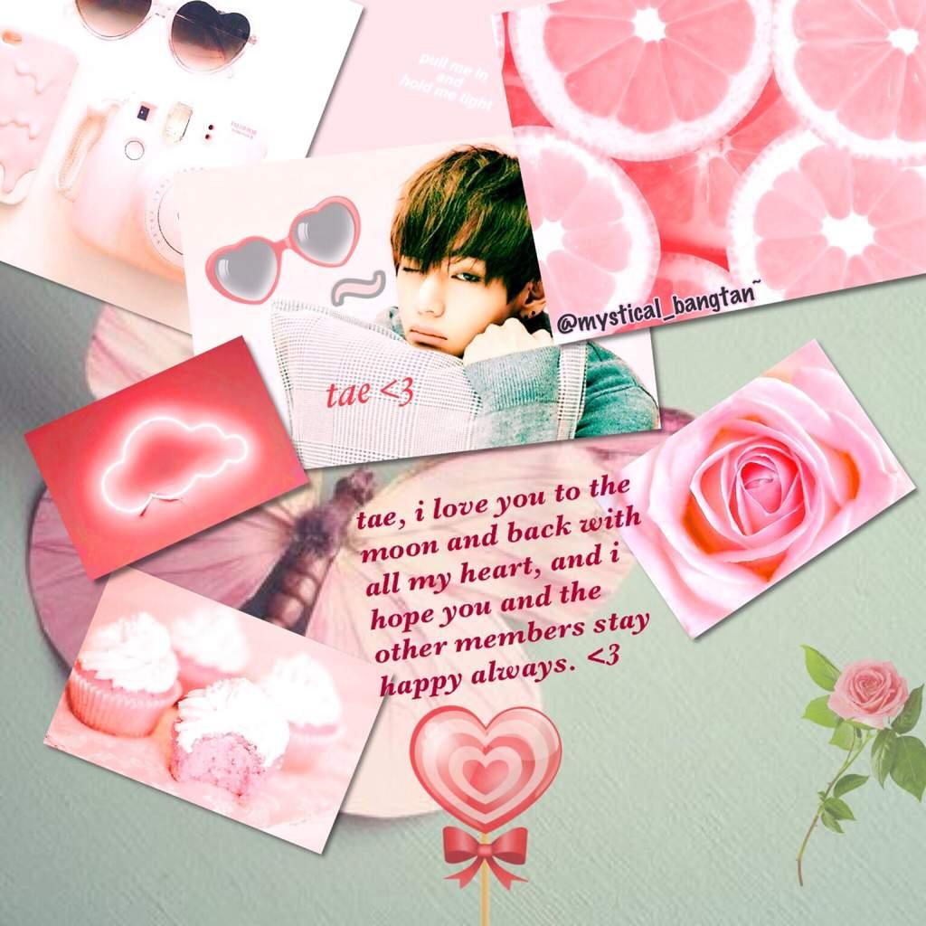 Pink Tae Aesthetic Bts Aesthetics Amino