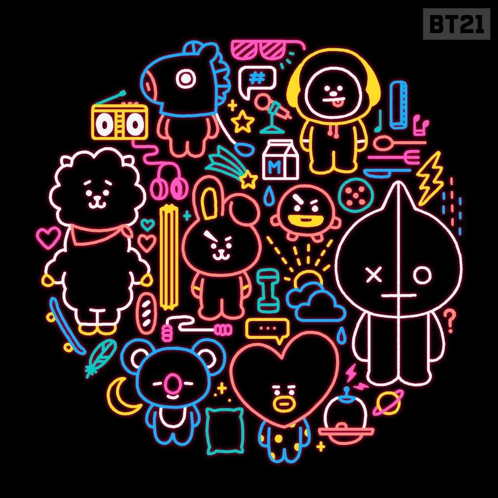 Bt21 Free Pictures On Greepx Oneletter Co