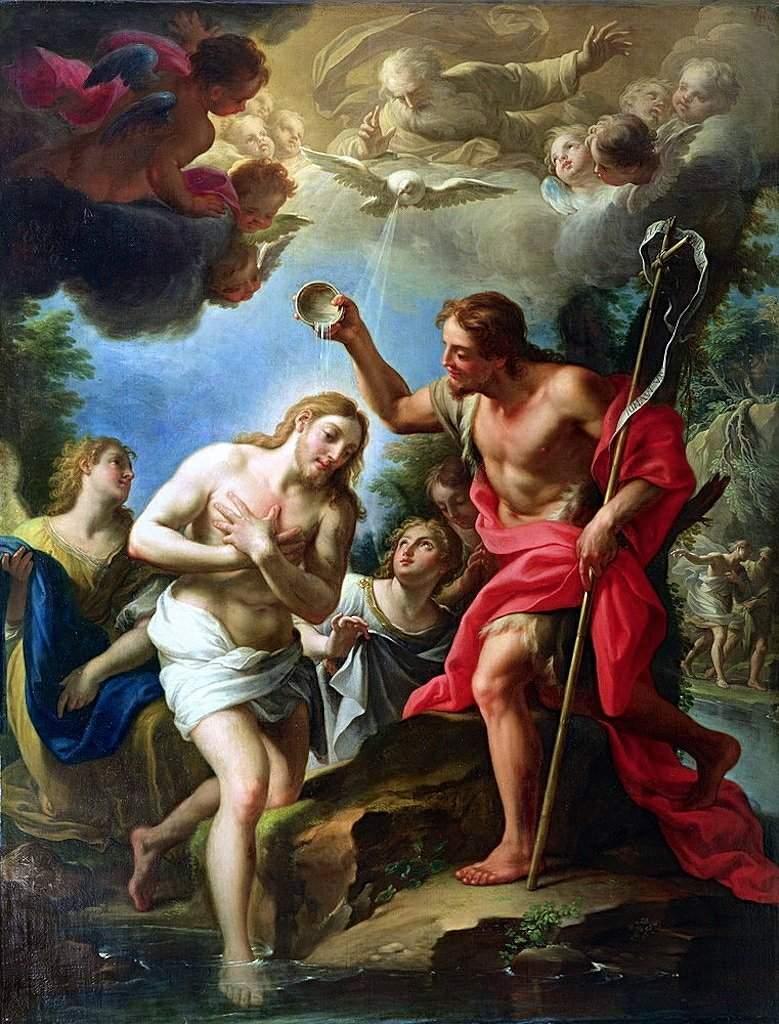 """Kết quả hình ảnh cho baptism of jesus painting"""""""