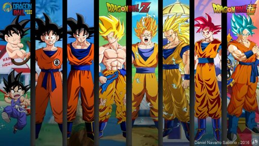 Imagen Goku Evoluciones Db Super Wallpaper By Danielns116
