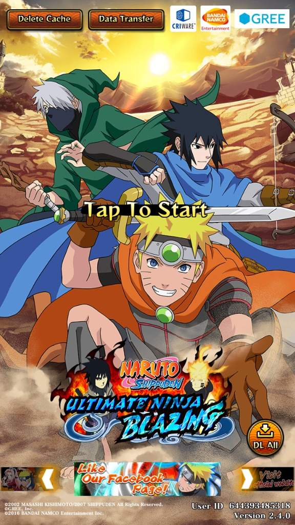 Do any of you guys play Naruto Shippiden: Ultimate Blazing Storm