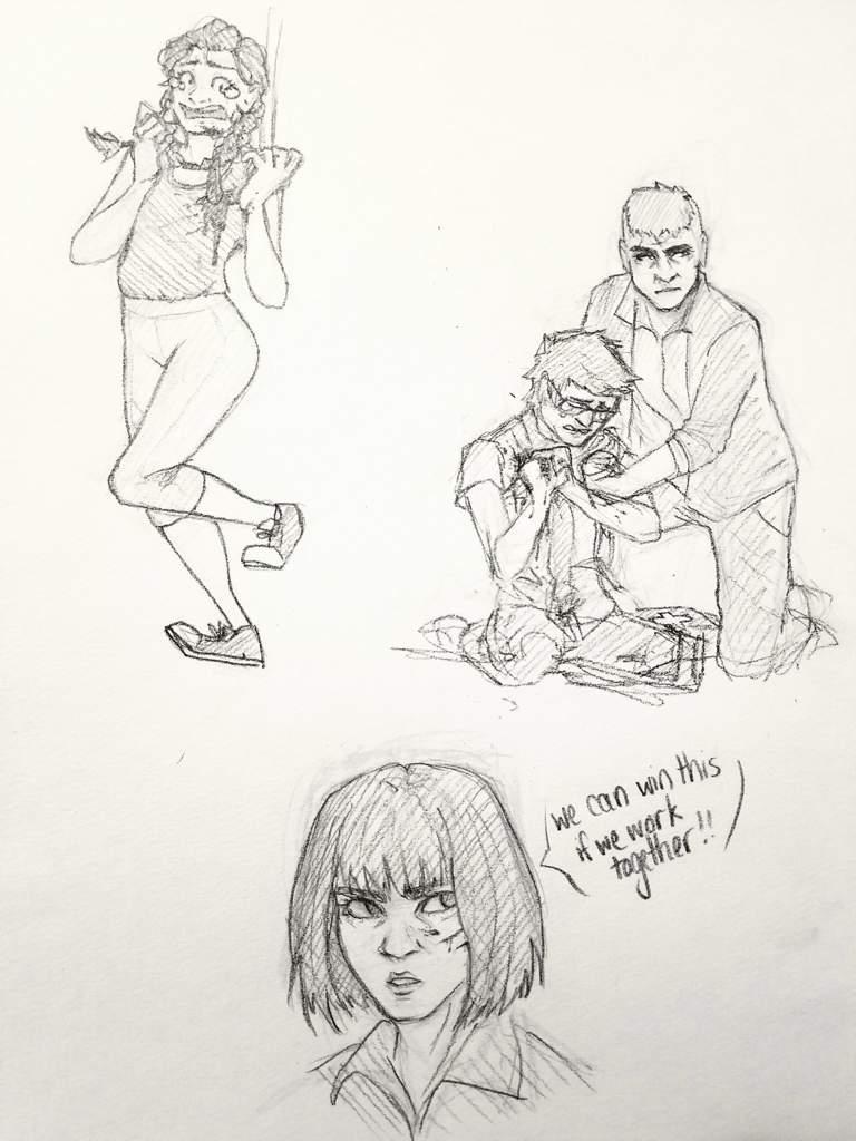 Dbd art dump!! | Dead by Daylight (DBD) Amino