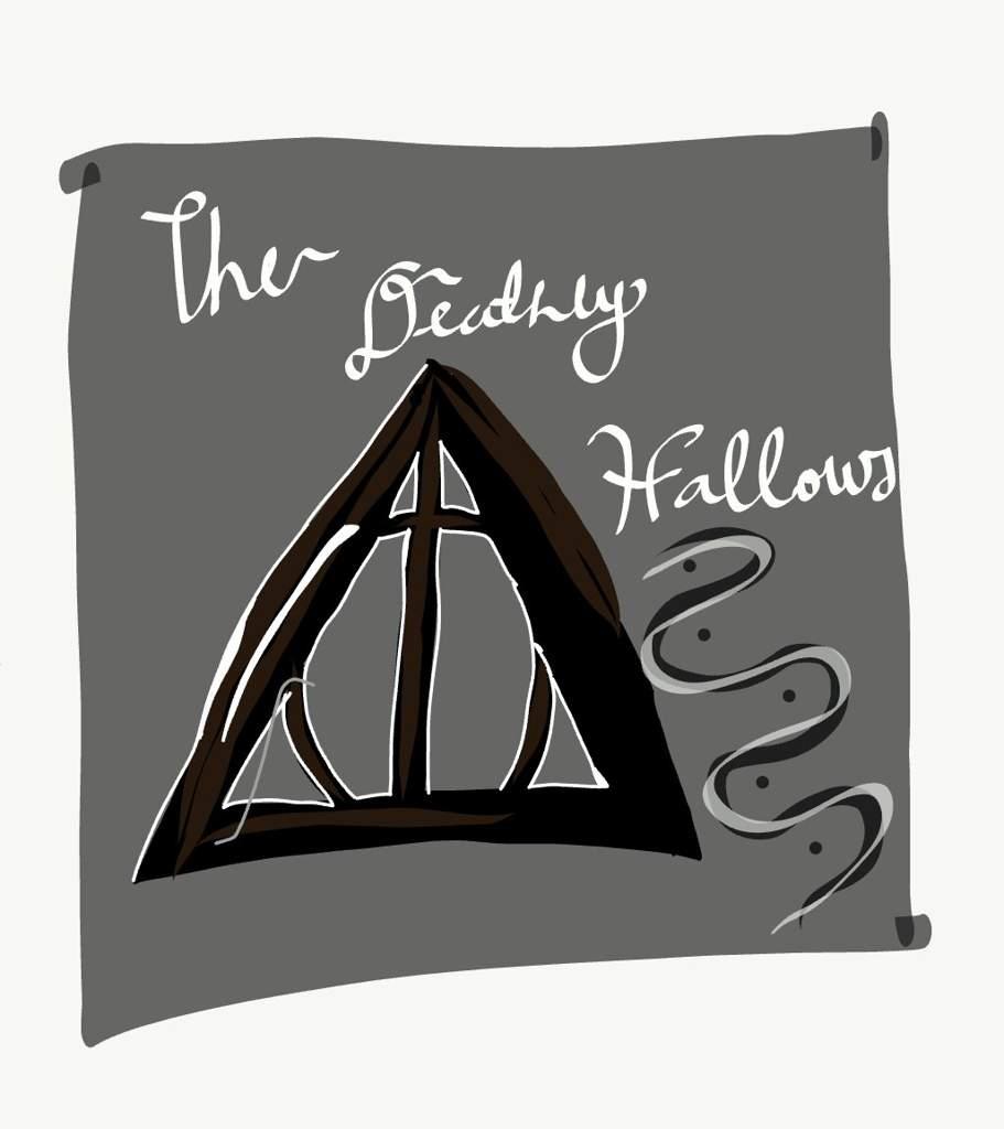 The Deathly Hallows Art Harry Potter Amino