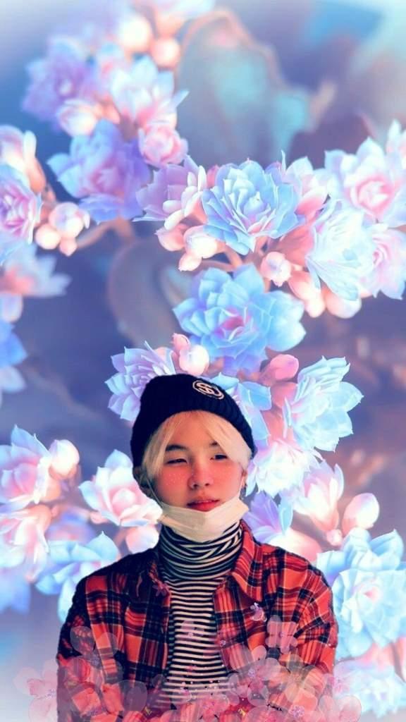 Yoongi Flower Aesthetic Wallpaper Army S Amino