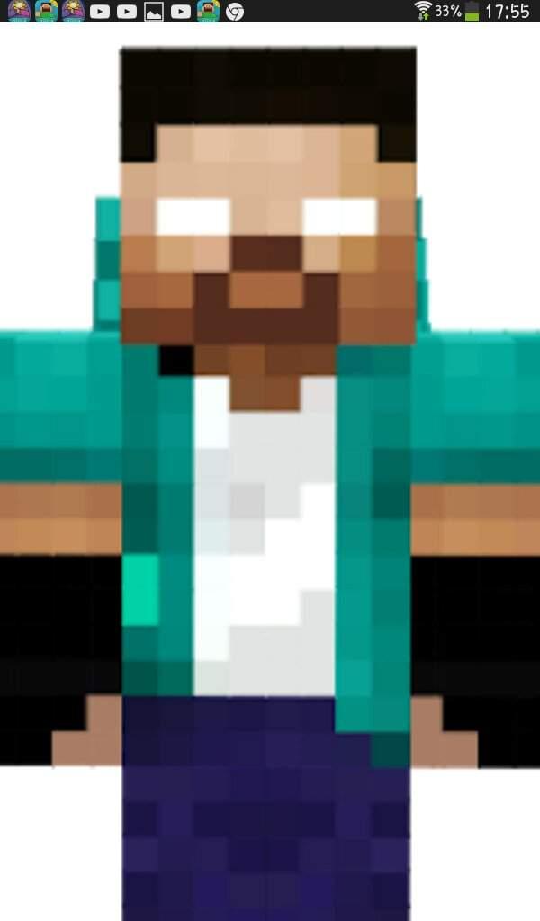 скины для майнкрафт скин херобрина в зеленой футболке