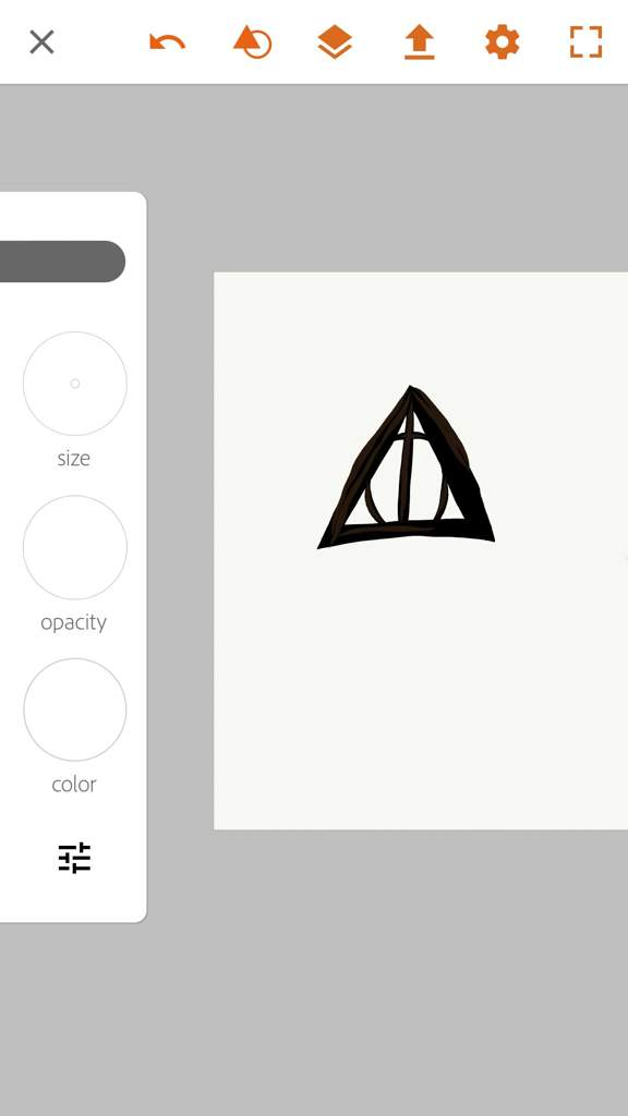 The Deathly Hallows Art Harry Potter Amino
