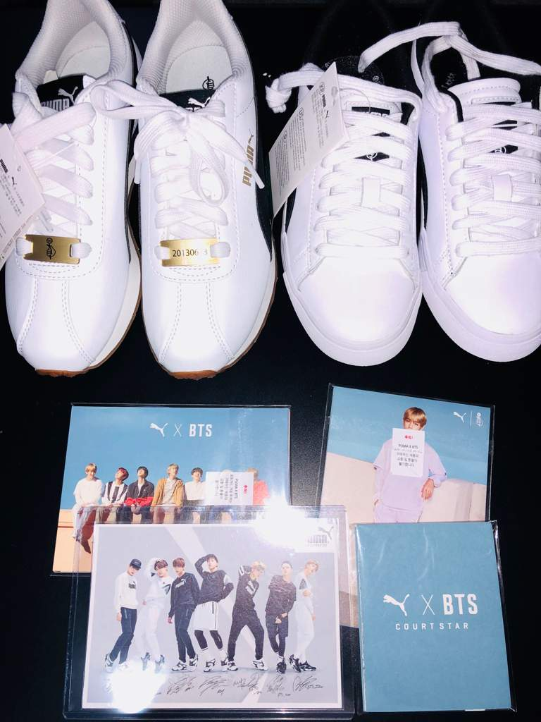 info for 225f6 9579d UNBOXING ♡ PUMA x BTS Court Star x BTS Turin | ARMY's Amino