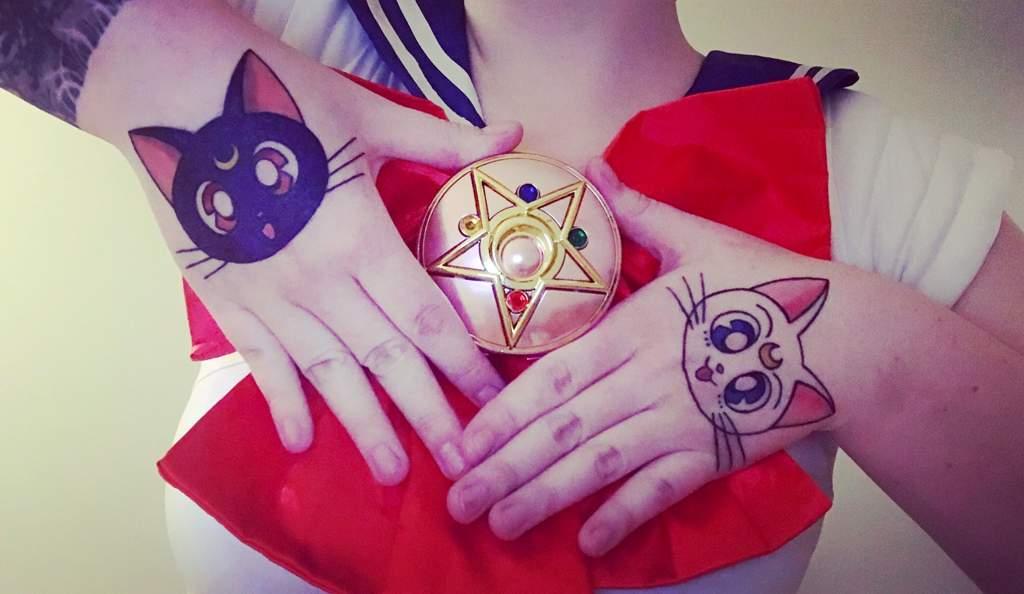 3b2ce650e Luna & Artemis Tattoo ❤ | Sailor Moon Amino