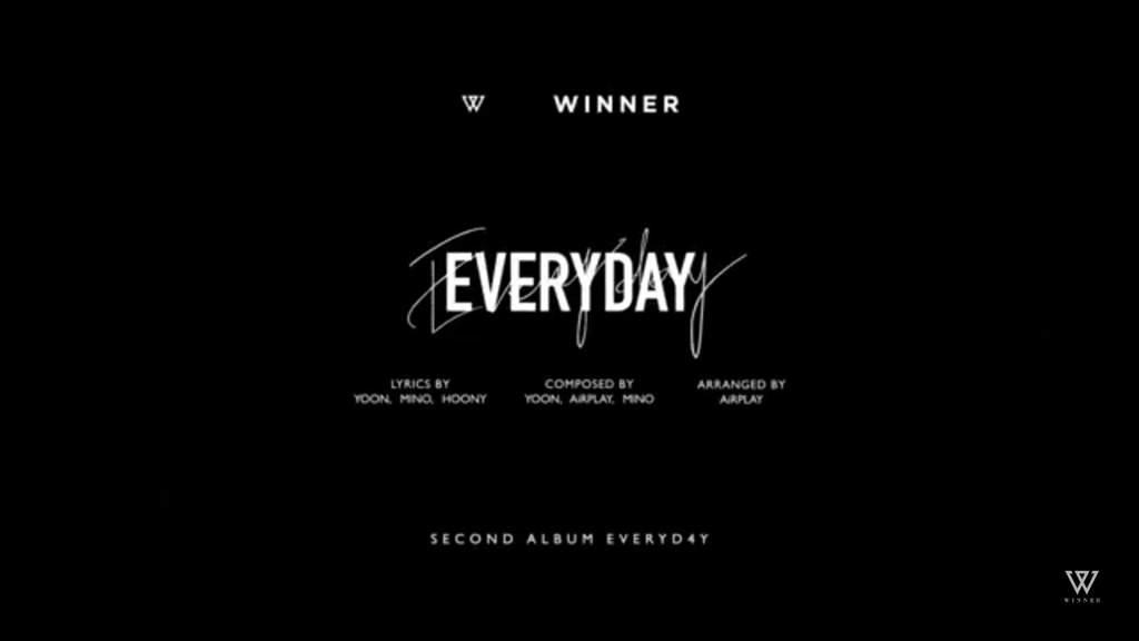 Winner EverD4y! MV!   YG Amino Amino