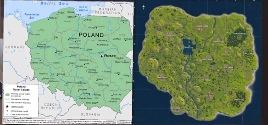 Wusstet Ihr Schon Das Polen Was Mit Der Fortnite Map Zu Tun Hat