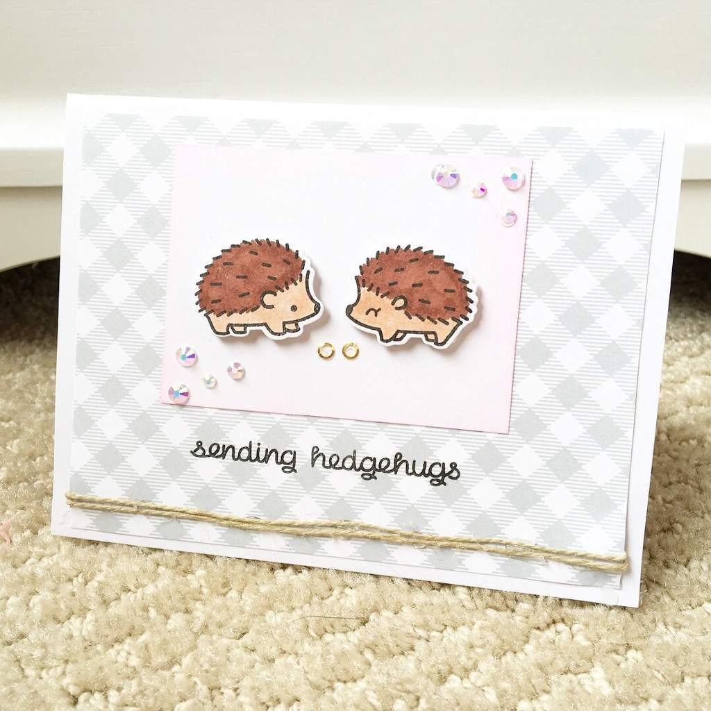 Hedgehog Wedding Card | Crafty Amino