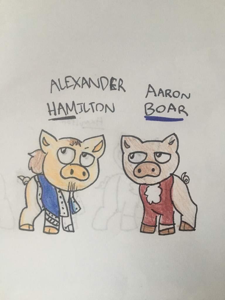 Hamilton As Pigs Hamilton Amino