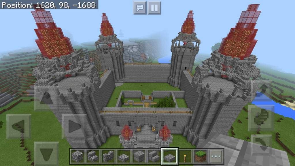 Progress On The Castle Minecraft Amino