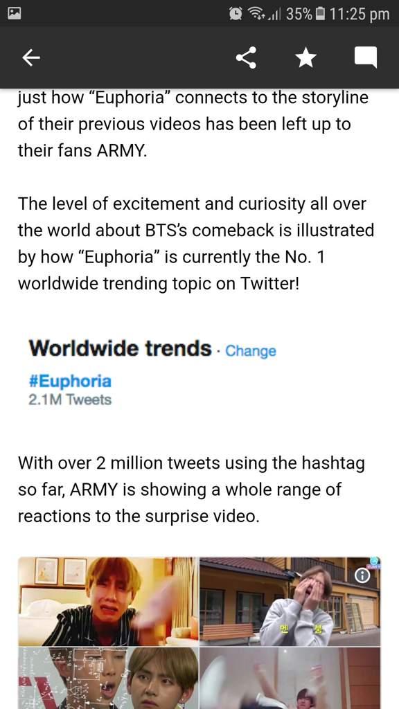 BTS new mv trending worldwide | ARMY's Amino