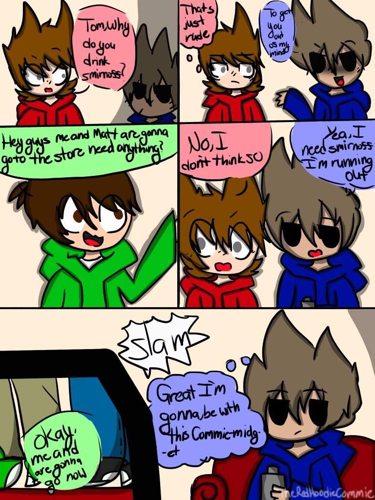 TomTord comic page 1   🌎Eddsworld🌎 Amino