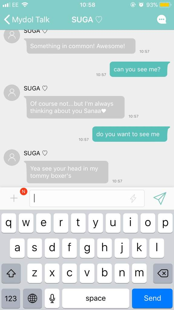 creepy mydol messages | ARMY's Amino