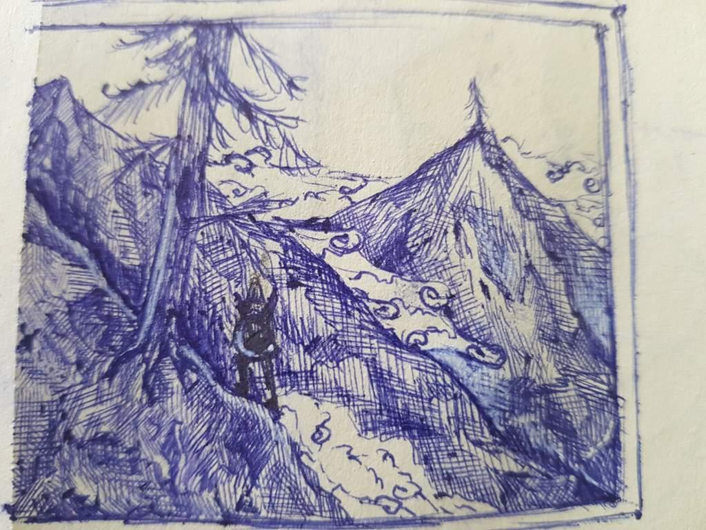 Ballpoint pen drawing | Zelda Amino
