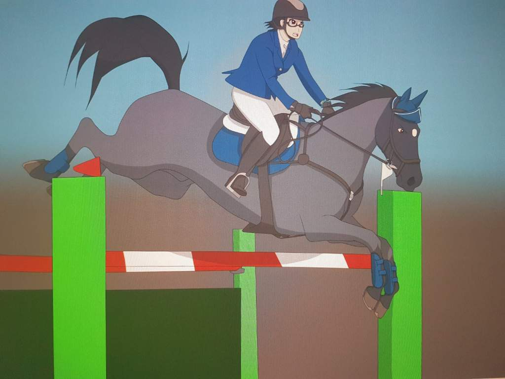 My Horse Anime Art Anime Amino