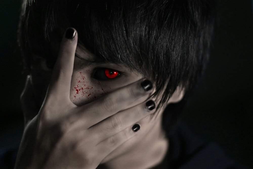 токийский гуль глаза картинки влюбленные