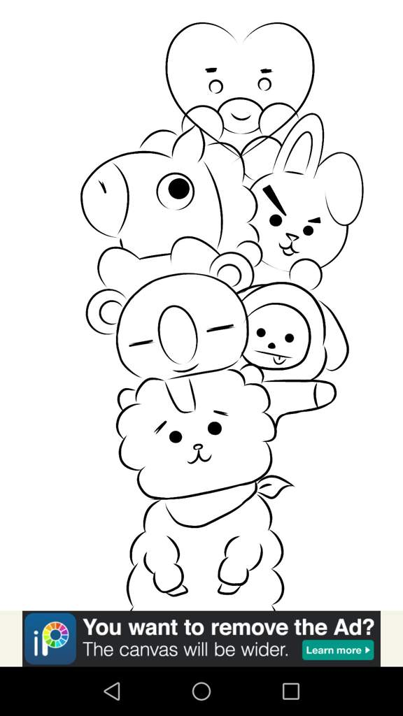 bt21 coloring pages Bt21 art | ♧Anime♧ Amino bt21 coloring pages