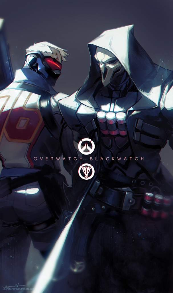 Soldier 76 and reaper wallpapers | Overwatch Amino