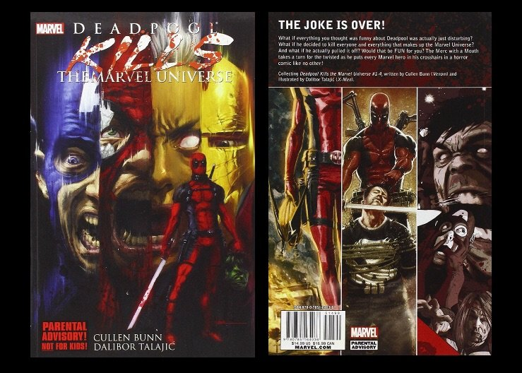 Deadpool Kills The Marvel Universe 1 4 Complete Series Review