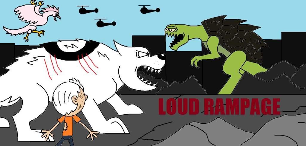 Loud Rampage | The Loud House Amino Amino