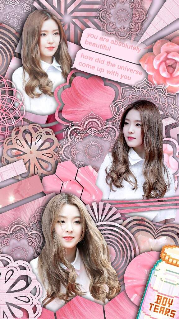 Irene Phone Wallpaper Edit Red Velvet Amino