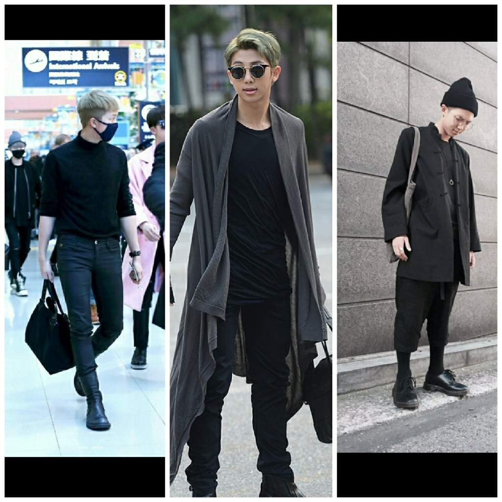 7577ef30d5292e I don t know if I m right but I think RM likes black outfits a lot and wear  really often  all black