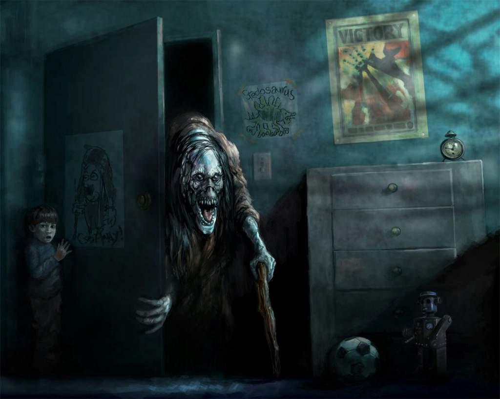 Страшные истории и страшные картинки