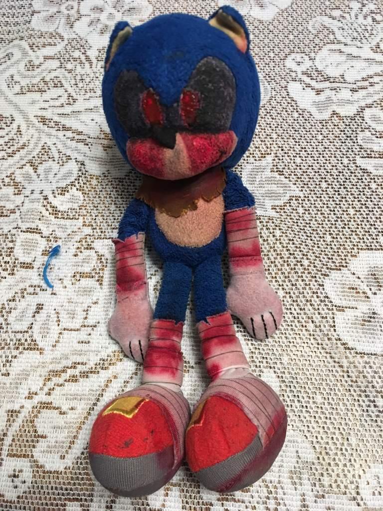 Sonic Exe Plushie Sonic The Hedgehog Amino