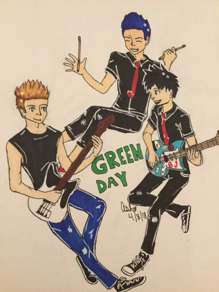 green day fan art