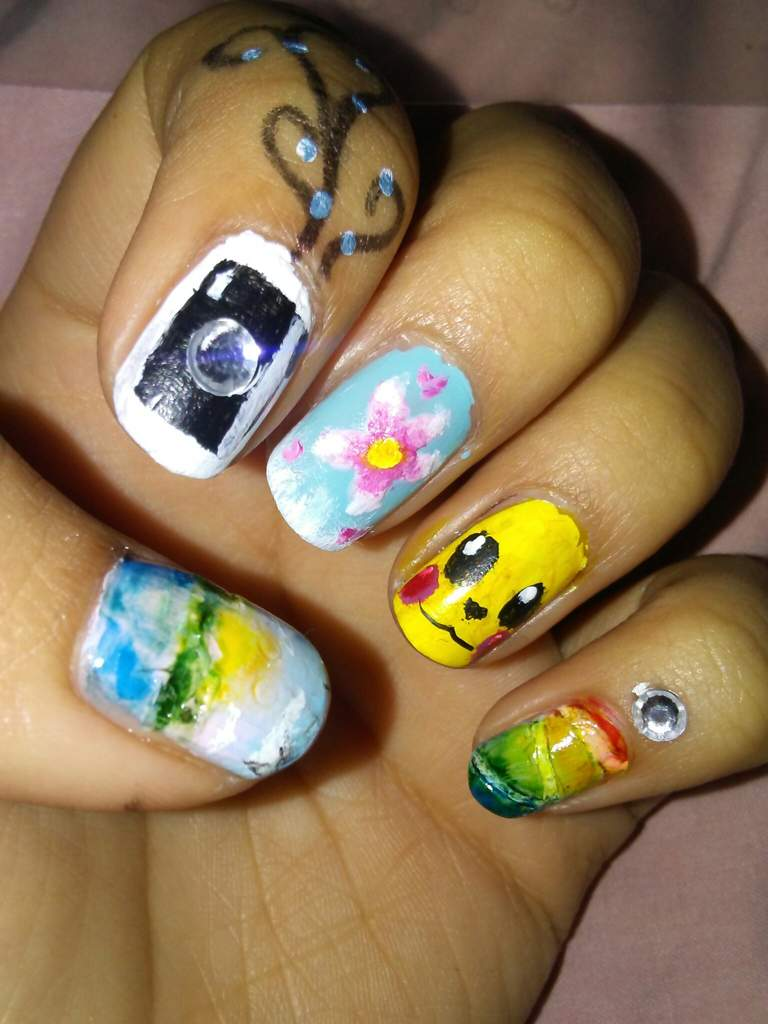 Some Nail Art Nail Art Amino