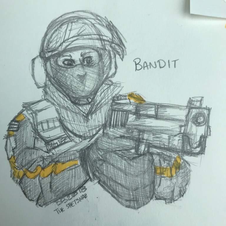 bandit rainbow six siege amino