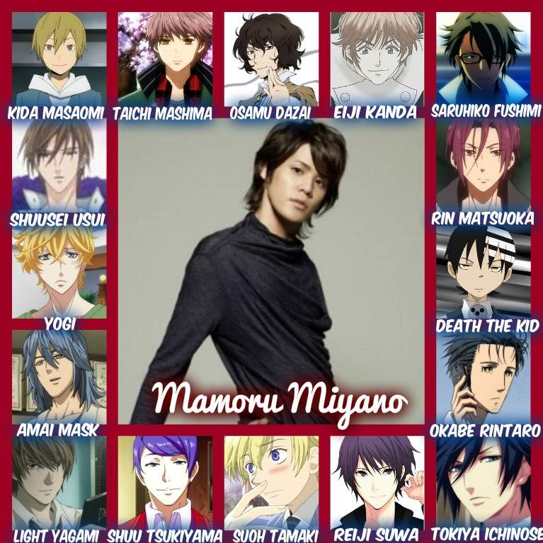 The Many Voices Of Mamoru Miyano Anime Amino