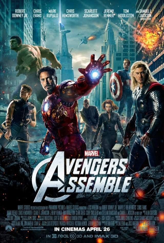 самые кассовые фильмы Marvel и Dc Comics Universe Marvel