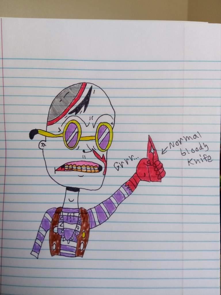 Chop top Sawyer drawing 🖊️😈 | Horror Amino