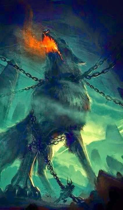 Fenrir El Lobo De La Mitologia Nordica Mundo Secreto Amino