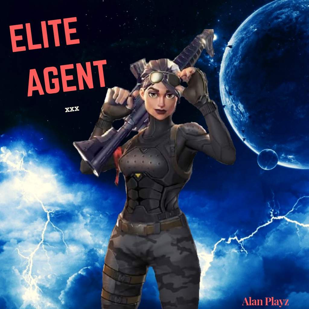 ELITE AGENT Edit // Background