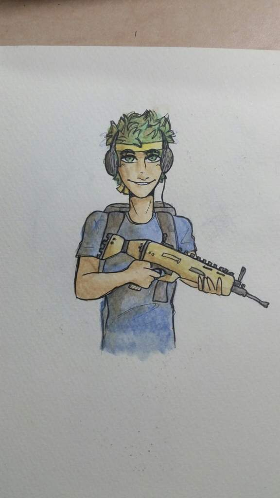 Tried to draw ninja xd uhh i have no idea how to use this app ive just downloaded it 😅 fortnite battle royale armory amino