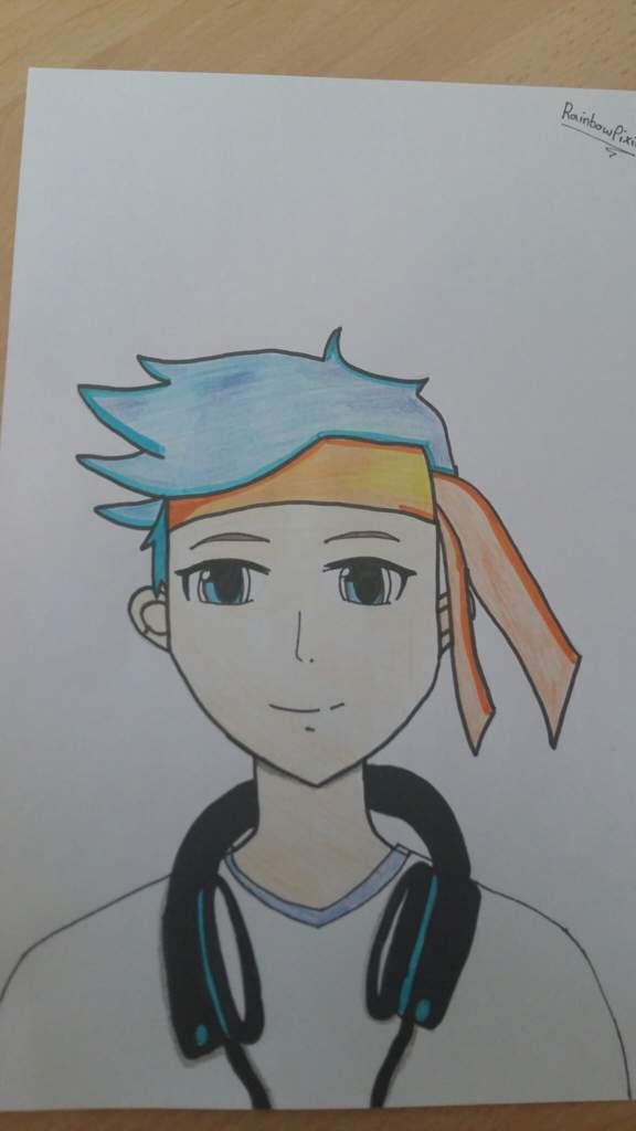 If NinjasHyper Were An Anime XD Fanart By Myself